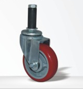 Red Color Swivel Caster Wheel