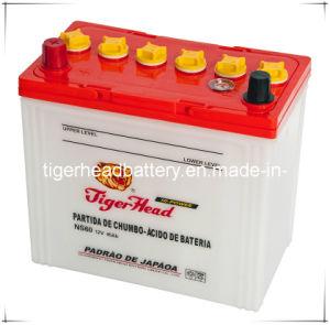 Long Duration Automotive Battery Lead Acid Batteries 12V45ah pictures & photos