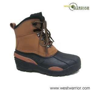 Stiched Russian Snow Boots with TPR Outsole (WSB020) pictures & photos
