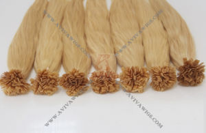 Italian Keratin Pre- Bonded Flat Tip Hair Extension pictures & photos