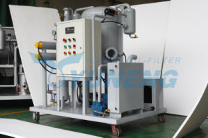 Used Lubricant Oil Purify Machine Lubrication Hydraulic Oil Purifier pictures & photos