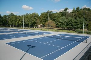 Rubber Mat PU Sports Court (basketball Court)