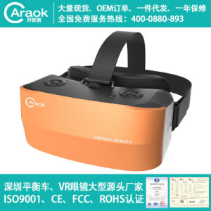 Customized Caraok V9 Virtual Reality Bluetooth WiFi Google IPS Screen Video Player for iPhone Android 4.4 3D Movie Box