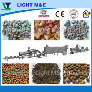 Automatic Dry Extruded Kibble Fish Animal Pet Food Machine pictures & photos