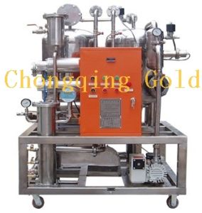 Stainless Steel Oil Filtration Plant for Fire-Resistant Oil pictures & photos