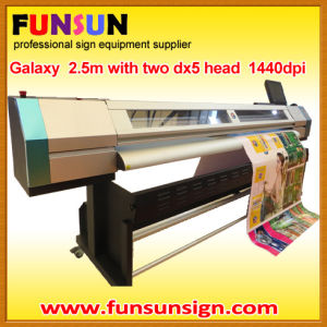 2.5m Eco Sovlent Digital Printer (dx5 head, 1440dpi hot seller) pictures & photos