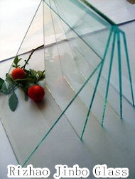 Colored Laminated Fireproof Glass for Building Projects (JINBO) pictures & photos