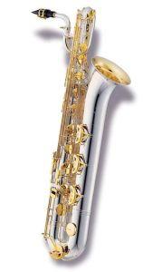 Double Color Baritone Saxophone pictures & photos