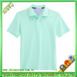 Wholesale Custom Unisex Short Sleeve Golf Polo Shirt pictures & photos