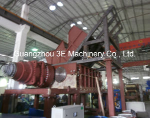Hydraulic Drive Shredder/Plastic Crusher/Tire Shredder of Recycling Machine/ Gld80210 pictures & photos