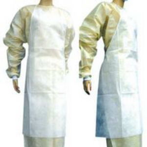 High Quality Nonwoven Aprons/Disposable Aprons pictures & photos