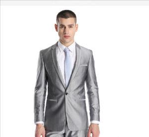 2015 High Fshion Sliver Elegant Men′s Wedding Suits pictures & photos