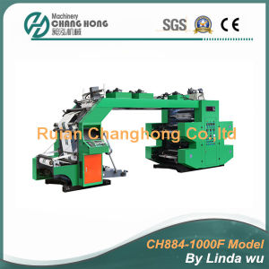 4 Color High Speed Flexo Printing Machine (CH884-1000F) pictures & photos