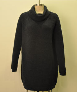 Wool Cashmere Women Cowl Neck Pullover Knit Sweater pictures & photos