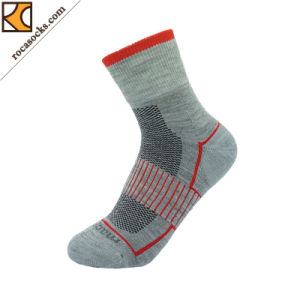 Sport Anklet Merino Wool Socks of Women (162031SK) pictures & photos