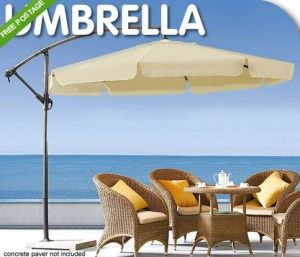 Banana Patio Design Outdoor Garden Sun Umbrella