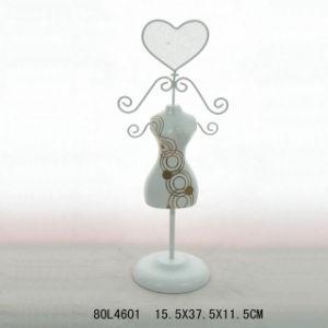 En71 Wooden Vintage Jewellery Stand with Metal pictures & photos