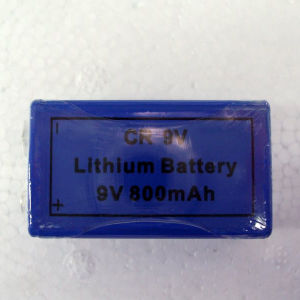 800mAh 9.0V Cr9v Lithium Ion Primary Battery pictures & photos