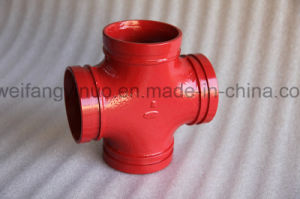 Ductile Cast Iron Grooved Cross with FM/UL/Ce Certificate pictures & photos