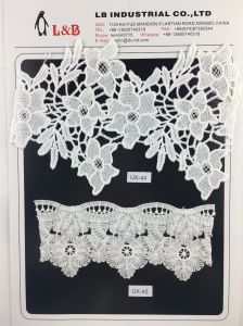 New Design Flower Embroidery Lace for Garment Accessory pictures & photos