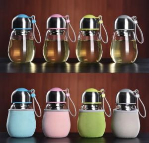 400ml New Penguin Glass Cup pictures & photos