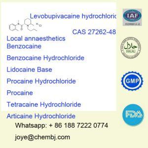 Local Anesthetic Pain Killer Levobupivacaine Hydrochloride/Levobupivacaine Hci pictures & photos