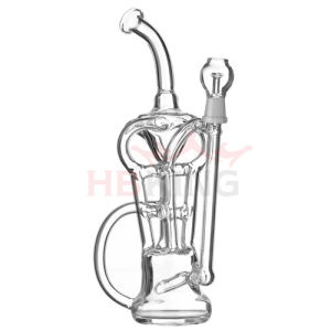 Newest Factory Price Bigger Tobacco Glass Smoking Water Pipe