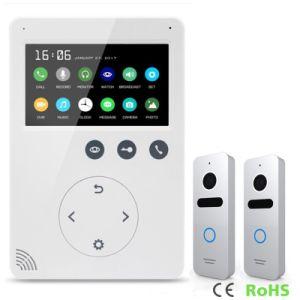 Memory 4.3 Inches Doorbell Home Security Video Doorphone Intercom pictures & photos