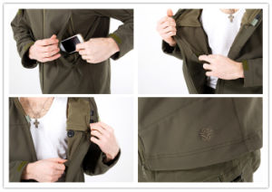 Army Outdoor Lightweight Archon Softshell Tactical Jacket pictures & photos