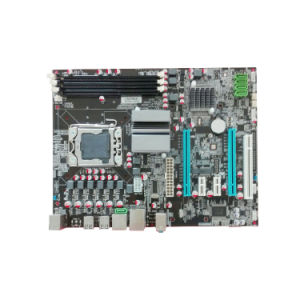 Motherboard X58 Which Support CPU Processor Lag1366 Socket pictures & photos