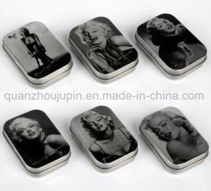 Custom Print Metal Jewel Jewelry Storage Box Case pictures & photos