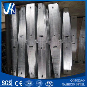 Galvanized Punched Arrowhead Steel Parts pictures & photos