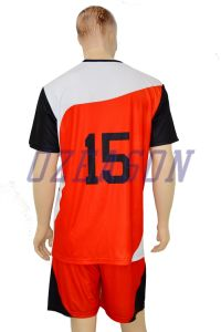 Custom 100% Polyester Youth Quickly Dry Soccer Team Jersey (S006) pictures & photos