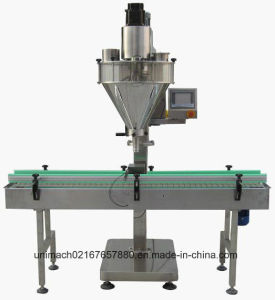 Automatic Powder Filling Machine for Bottle, Cans (APG-01B) pictures & photos