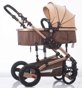 New Design European Luxury Fold Baby Stroller with Ce Certificate pictures & photos