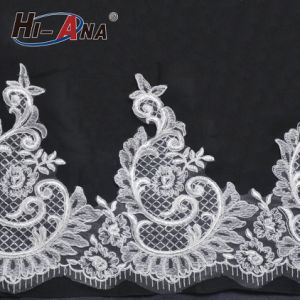Hot Products Custom Design Top Quality Bridal Lace Fabric Wholesale pictures & photos