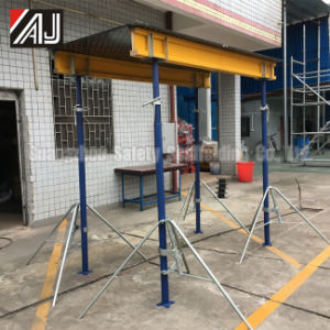 Guangzhou Concrete Slab Formwork Support Post Painted Steel Prop pictures & photos