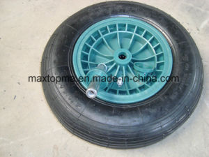 China Air pneumatic Wheel Barrow Rubber Wheel pictures & photos