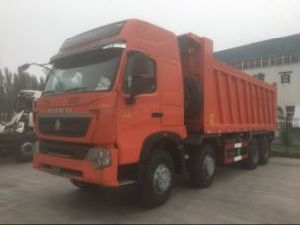 Sino-Truk HOWO A7 High Roof 8*4 Dump Truck Tipper Truck pictures & photos