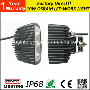 E-MARK 10W Osram Spot/Flood LED Work Light for motorcycle (GT1012-10W) pictures & photos