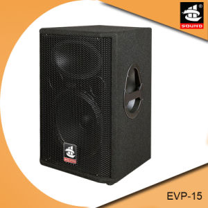 Evp-15 1600W Dual 15 Inch Professional PA System Speaker pictures & photos