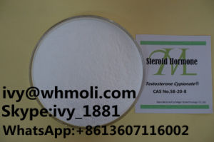 58-20-8 Pharmaceutical Raw Steroid Injection Testosterone Cypionate 250mg/Ml pictures & photos