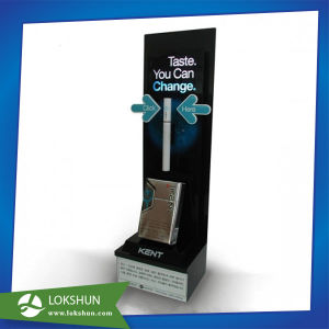 High Acrylic Single Unit Cigarette Display Stand for Tobacco Display pictures & photos