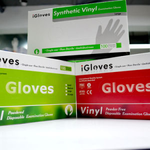 Food Grade Service Vinyl Glove Cheaper pictures & photos