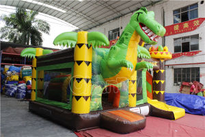 Dino Park Inflatable Bouncy Slide Combo Chb727 pictures & photos