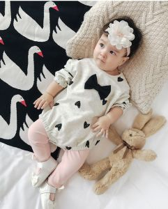 100% Cotton Baby Rompers pictures & photos