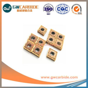 CNC Carbide Indexable Turning Milling Inserts pictures & photos