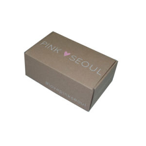 Custom Printing Brown Kraft Corrugated Mailing Box for Shipping pictures & photos