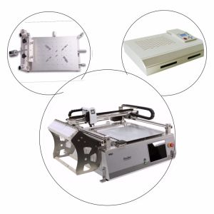 PCBA Line of Solder Printer, PNP Machine and Reflow Oven pictures & photos