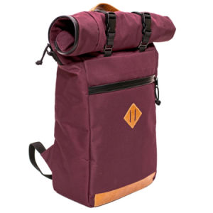 Carbon Lined Oder Proof Roll Top Travel Backpack pictures & photos